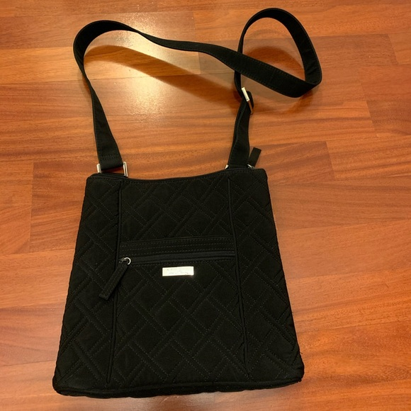 Vera Bradley Handbags - Vera Bradley Large Black Crossbody